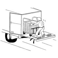 荷降ろし作業の事故