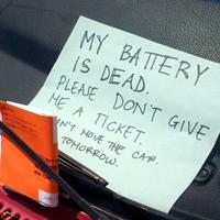 バッテリーの死