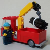 レゴのユニック車