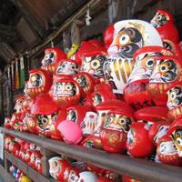達磨寺のダルマ