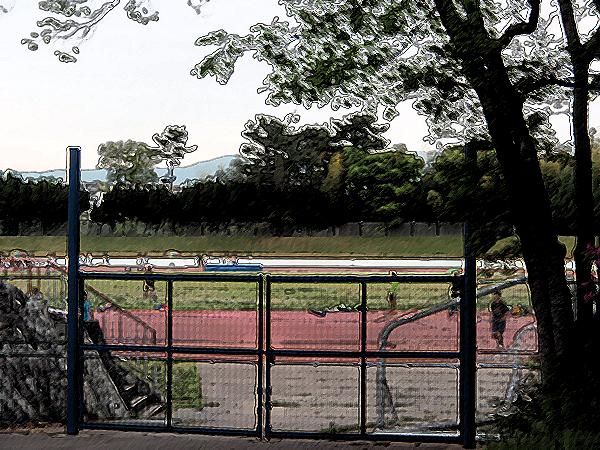 服部緑地陸上競技場 (2)