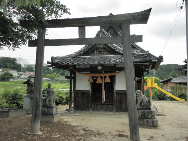 粟生間谷東 春日神社 (10)
