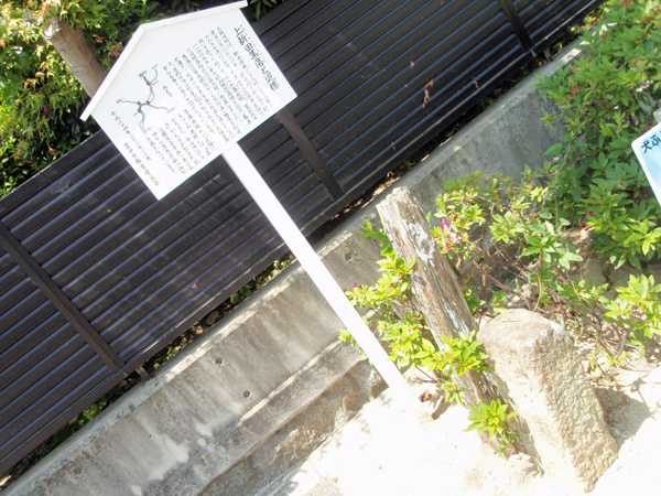 上新田の道標 (3)