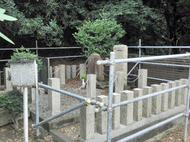 稲荷神社舊跡副碑 (3)