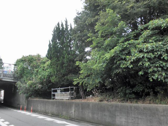 稲荷神社舊跡副碑 (2)