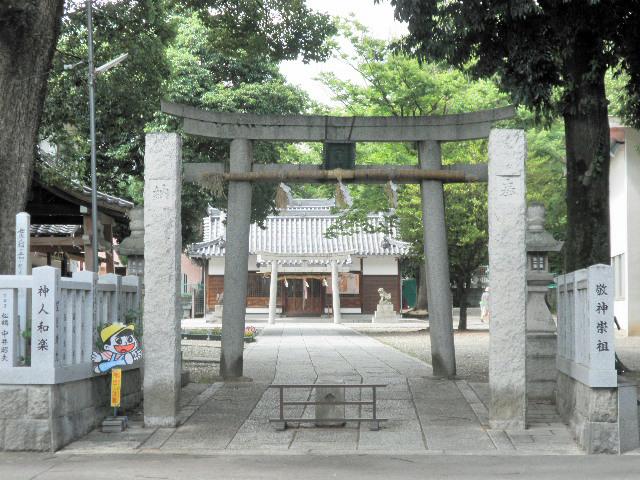 八幡宮 牧落 (2)