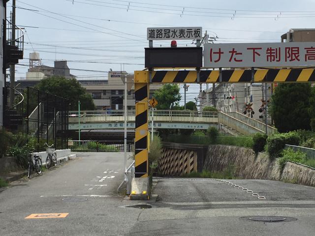 稲津町一丁目横断歩道橋 (3)