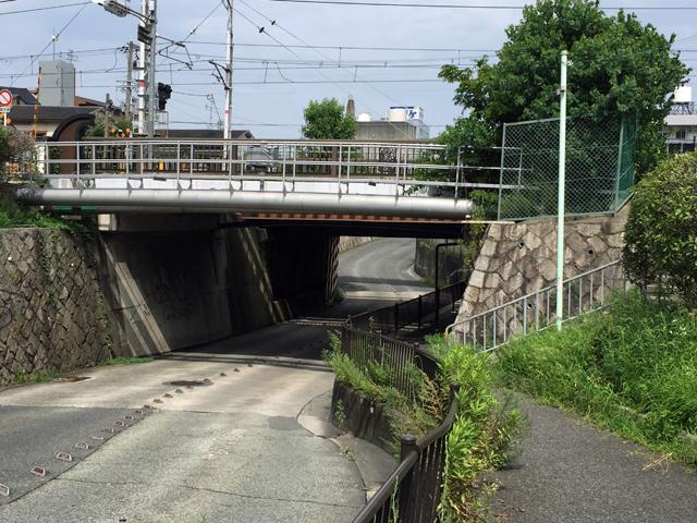 稲津町一丁目横断歩道橋 (5)