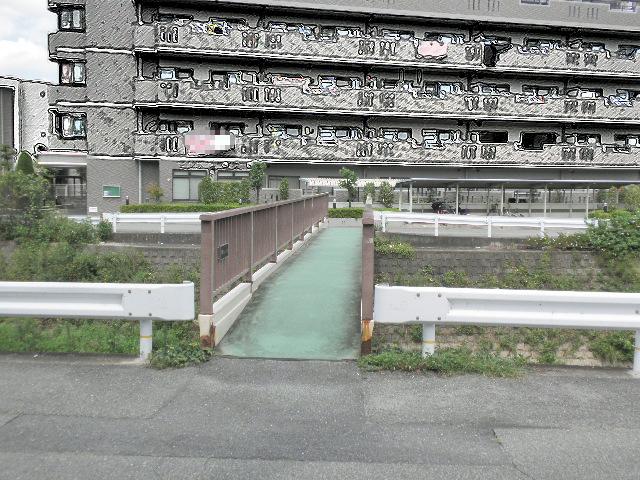 千里川人道橋 妙力地蔵尊 (2)