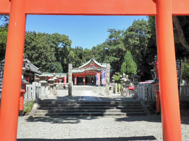 稲荷神社 朝市様子 (2)