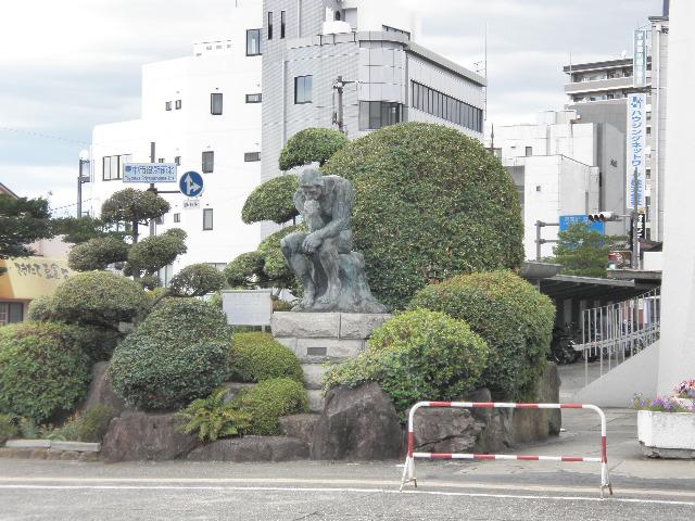 一般環境大気測定局 市役所局と姉妹都市沖縄シーサー (6)