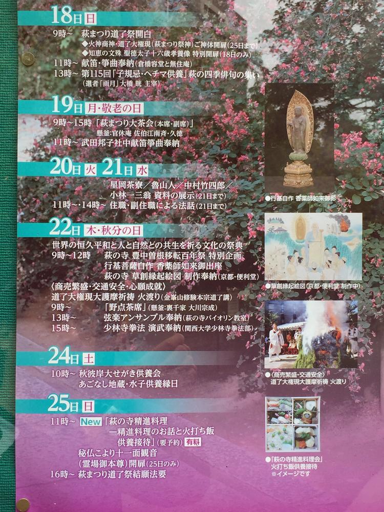 169萩の寺  萩まつり道了祭(4)