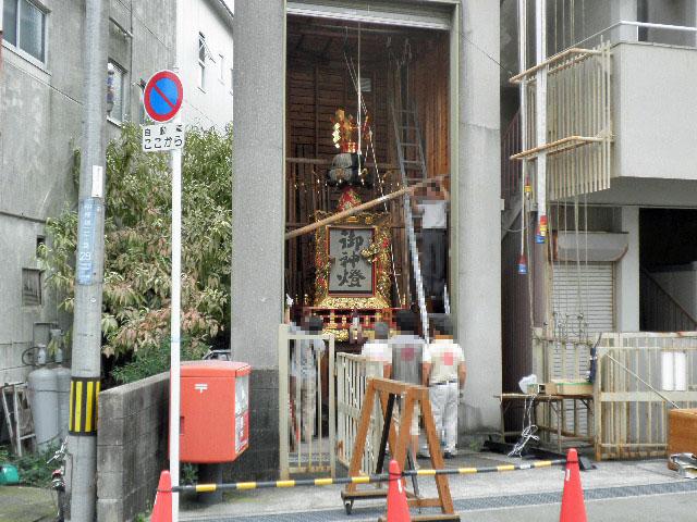 原田神社 秋祭り 桜塚会館 (1)