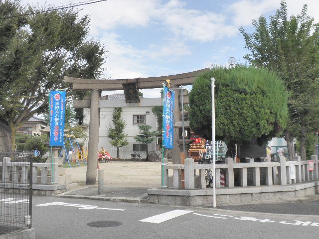 洲到止八幡宮1610秋祭り (1)