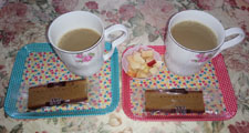 お茶飲みますか!