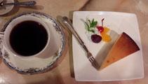 今日はチーズケーキ!