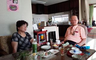 佐智子おば様&父