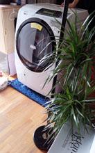 洗濯機搬入2