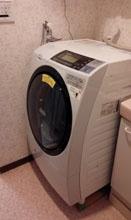 洗濯機搬入3