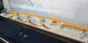 錦帯橋模型b