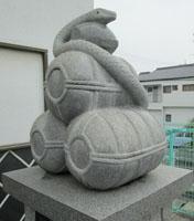 イヴままさんと白蛇神社1