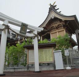 イヴままさんと白蛇神社2