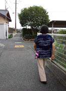 土曜夕の散歩3