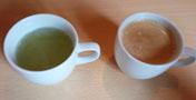 梅こぶ茶&珈琲