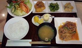 フォレランチ 豚生姜焼き