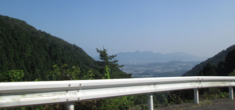 極楽寺は山の上