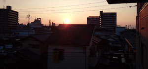 朝陽 掃除の時間