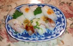晩御飯 +イカ寿司