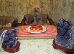 リベンジ祝記念日ケーキ