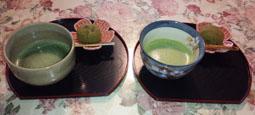 お抹茶タイム♪ 栗生菓子
