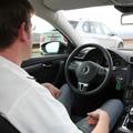 自動運転の車