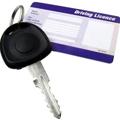 免許証と鍵