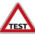 テストのロゴ