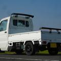 リアウィング付き軽トラック