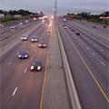 中央から見た高速道路