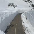 積雪している道路2