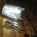 LEDランプと配線