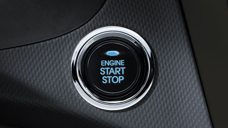 クラッチスタートシステムのボタン
