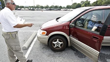 乗車の試験