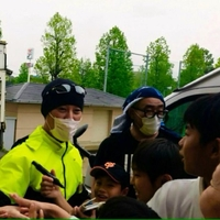 SMAP中居正広、熊本の長嶺小に炊き出し参戦!1