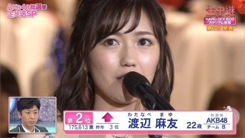 【AKB48】フジテレビ 第8回AKB48総選挙 ラスト30分間の視聴率17・6%だが本当の平均視聴率は約10%…2