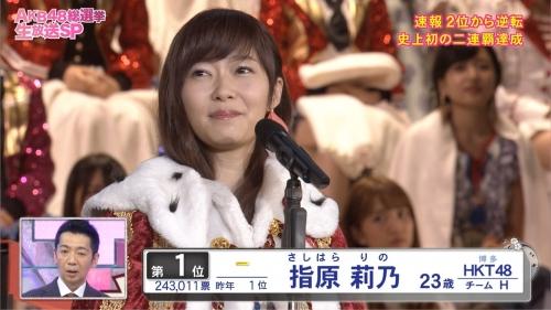 【AKB48】フジテレビ 第8回AKB48総選挙 ラスト30分間の視聴率17・6%だが本当の平均視聴率は約10%…1