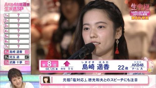 【AKB48】フジテレビ 第8回AKB48総選挙 ラスト30分間の視聴率17・6%だが本当の平均視聴率は約10%…8
