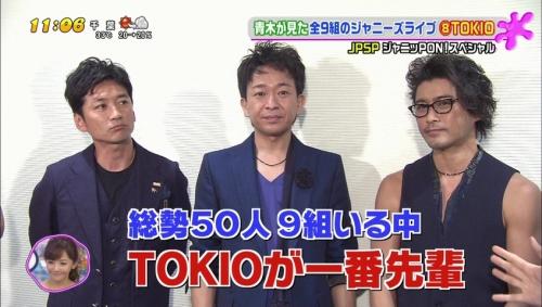 【画像】TOKIO山口達也、眼帯姿で「ZIP!」出演 自転車転倒で顔面負傷2