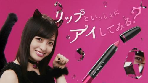 """橋本環奈が猫耳&ショートパンツでセクシーな""""黒猫""""に メンソレータムのウェブ限定CMで9"""
