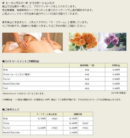 強姦魔・高畑裕太が入院する病院は、トレーニングルーム、マッサージ付き3